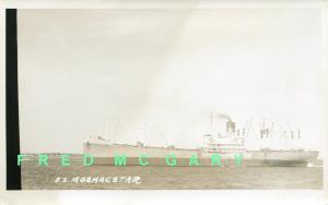 1915 Moore McCormack RPPC: Container Ship SS Mormacstar - Rare!