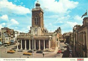 Postcard England Northampton All Saints Church