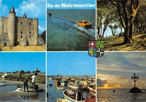 France La Vendee Touristique Ile de Noirmoutier multiviews Castle Harbour