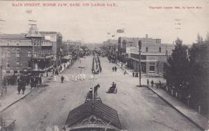 Labor Day , Main Street , MOOSE JAW , saskatchewan , Canada , 1909