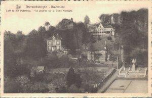 Belgium Geraardsbergen Grammont Zicht op den Oudenberg 03.09