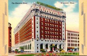 Massachusetts Worcester The Sheraton Hotel 1949