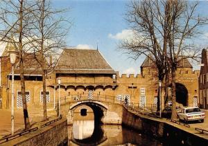 Netherlands Amersfoort Bruecke Bridge Pont Koppelpoort Stadzijde Auto Car