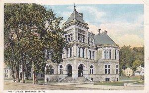 MONTPELIER , Vermont , PU-1934 , Post Office