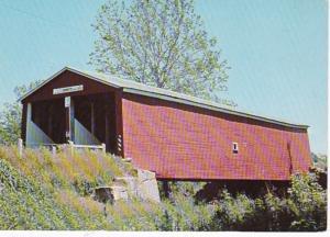 Ohio Preble County The Roberts Covered Bridge