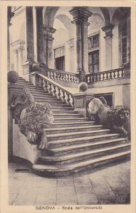 Italy Genova Scala dell' Universita