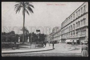 100742 ITALY Napoli Piazza Vittoria Vintage PC