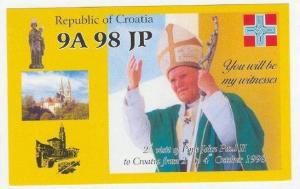 Pope John Paul II visit to Croatia, 1998