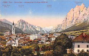 Switzerland Old Vintage Antique Post Card Tirol Dolmiten Unused