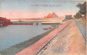La Route des Pyramides Le Caire Egypt, Egypte, Africa Unused