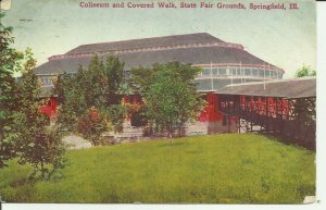 Springfield, Ill., Coliseum and Covered Walk, State Fair Grounds