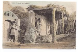 Dans le Sud Algerien c 1910 Collection Ideale PS Postcard