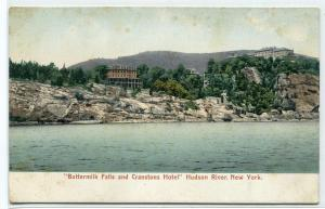 Buttermilk Falls Cranstons Hotel Hudson River New York 1907c postcard