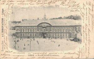 Belgium Liege Place Saint Lambert Liége Luik 03.80