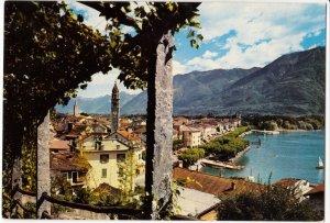 Switzerland, ASCONA, LAGO MAGGIORE, unused Postcard