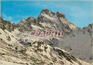 Modern Postcard Panorama on Mont Viso The Viso Valante and face NW Dado