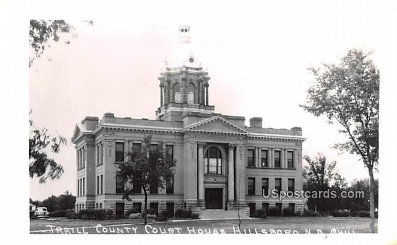 Trail County Court House Hillsboro Nd Unused