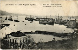 PC CPA AZORES / PORTUGAL, LEMBRANCA DE SAO MIGUEL, VINTAGE POSTCARD (b13495)