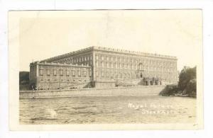 RP: Royal Palace,Stockholm, Sweden 1900-10s