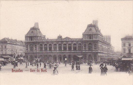 BRUXELLES, Gare du Nord, Belgium, 00-10s