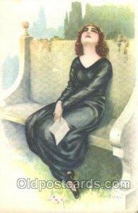 Artist Signed A. Bertiglia, Unused