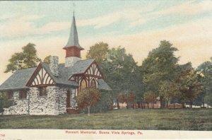 BUENA VISTA SPRINGS , Pennsylvania, 00-10s ; Rennert Memorial