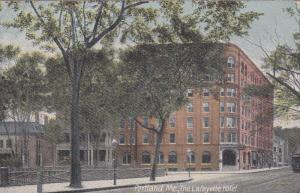PORTLAND, Maine; the Lafayette Hotel, 00-10s