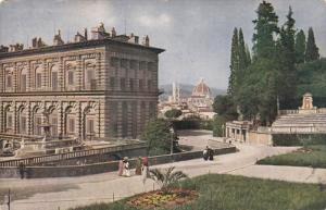 Angolo Nord-Est Del Cortile, Veduta Dall' Anfiteatro Di Boboli, Palazzo Pitti...
