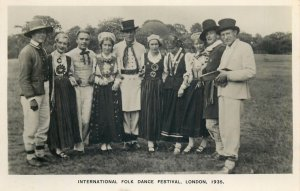 International Folk Dance Festival Exhibition London 1935 ethnic Lithuanian