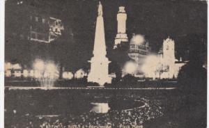 BUENOS AIRES , Argentena , 00-10s Plaza Mayo at night