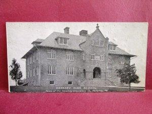 Postcard PA Hershey High School Hershey Chocolate Co. Short Card