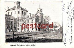 1905 Michigan State Prison, Jackson MI J. Murray Publ. sent to Mrs. D.V. Bradley