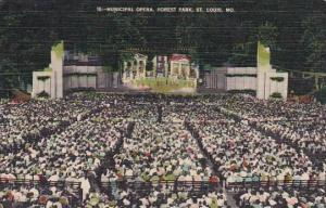 Municipal Opera Forest Park Saint Louis Missouri 1943