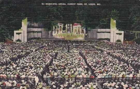 Municipal Opera Forest Park Saint Louis Missouri 1943