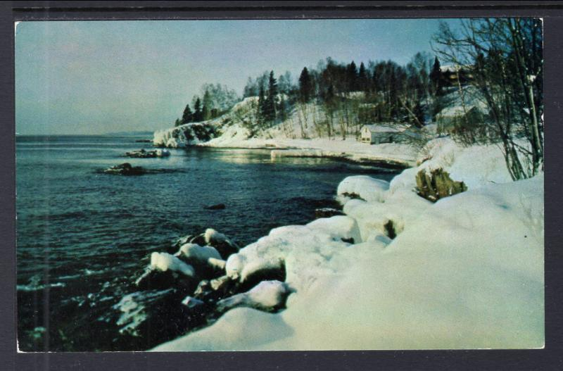 Winter on North Shore of Lake Superior BIN