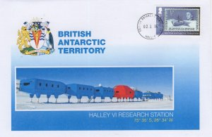 British Antarctic Territory Halley VI Research Station FDC