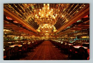 Atlantic City NJ- New Jersey, Golden Nugget, Hotel, Casino, Chrome Postcard