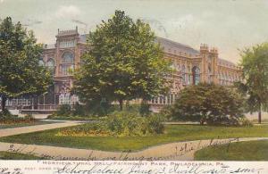Horticultural Hall, Fairmount Park, Philadelphia, Pennsylvania,  PU-1906