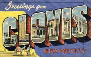Greetings From Clovis NM Unused