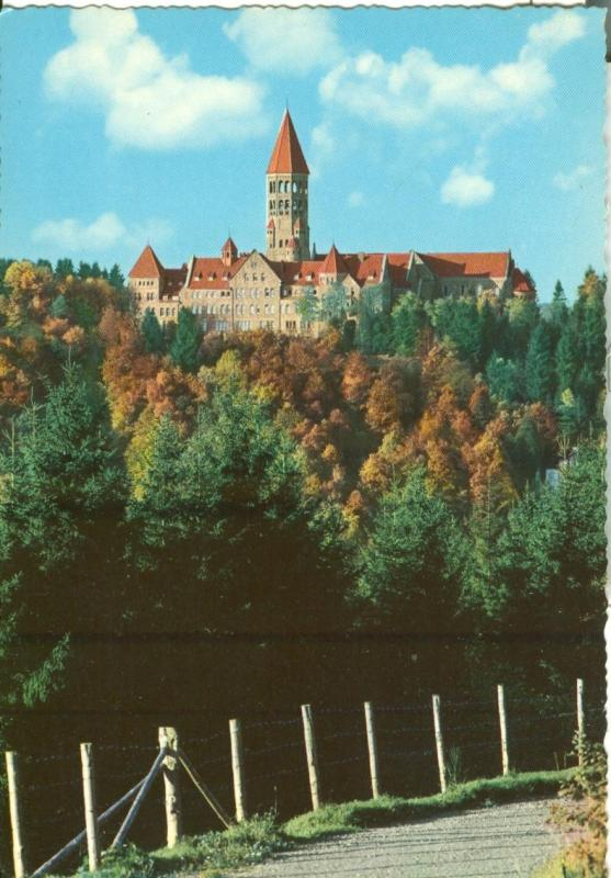 Luxembourg, Clervaux, Abbaye St. Maurice, unused Postcard