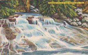 Paradise Falls In The Pocono Mountains Pennsylvania