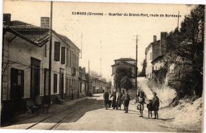 CPA AK CAMBES - QuARTIER Du GRAND PORT ROuTE DE BORDEAUX (192898)