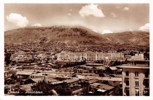 Syria Damas - Panorama, Damascus, Vraie photographie real photo