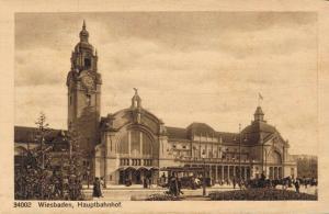 Germany Wiesbaden Hauptbahnhof 02.68
