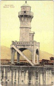 Gatun Lake Section Tower Vintage Postcard Standard View Card