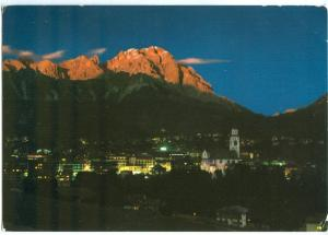 Italy, Cortina D'Ampezzo, 1960s used Postcard
