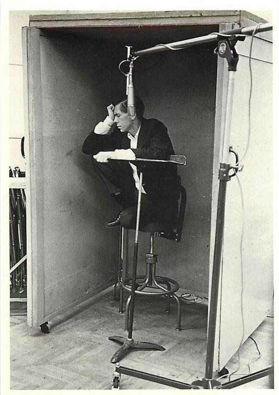 Image result for 1950s recording studio with cigarettes""