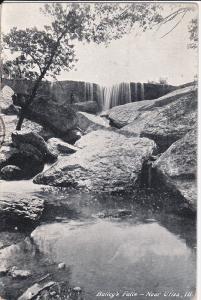 Bailey's Falls, Near UTICA, Illinois, 1900-1910s