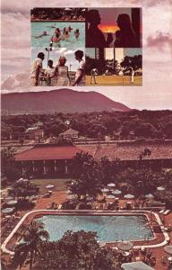 Kingston Jamaica~Sheraton-Kingston Hotel~People @ Swimming Pool~Golfing~1970s Pc
