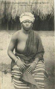 CPA AK Senegal Ethnic Nude Fortier - 53. Type de femme Saracolet (70696)
